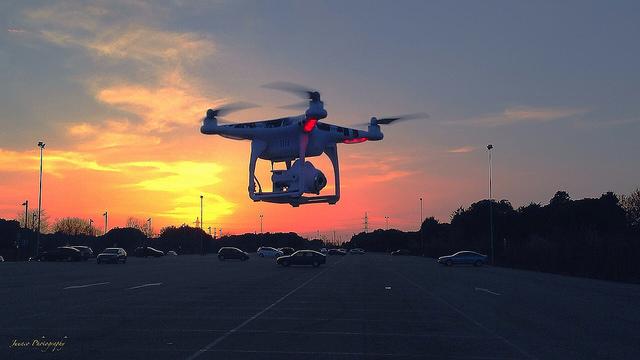 Aprenser a volar drones